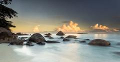 Anze Lazio Beach Stock Photos