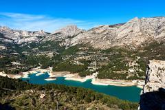 Guadalest Reservoir. Spain Stock Photos