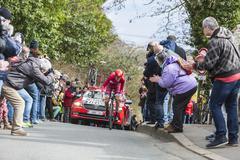 Conflans-Sainte-Honorine,France-March 6,2016: The Cyclist Ilnur Zakarin - stock photo