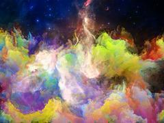 Accidental Space Nebula Stock Illustration