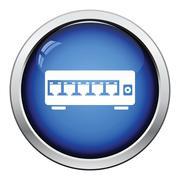 Ethernet switch icon Stock Illustration