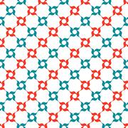 Arabesque Trellis Pattern - stock illustration