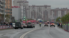 9 july 2016, Russia, Kazan, The SILK WAY RALLY 2016 - view the competition Stock Footage