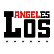 T shirt typography LA Piirros