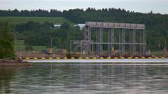 Hydro Power Dam. Stock Footage