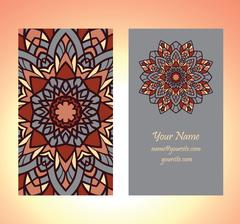 decorative card vector - stock illustration