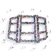 people wine barrel shape icon 3d - stock illustration
