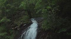 Waterfall in Carpathian mountains Stock Footage