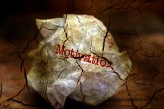 Abandon motivation grunge concept Stock Illustration