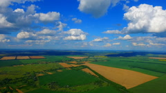 Aerial Photo of the earth horizon. Stock Footage