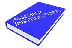 Assembly Instructions concept Stock Illustration