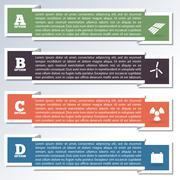 Elements of infographics, vector illustration. - stock illustration