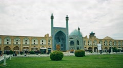 Isfahan Shah Mosque - stock footage