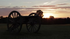 Canon at dusk - stock footage