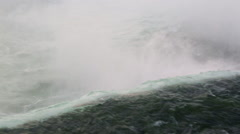 Niagara Falls close up Stock Footage