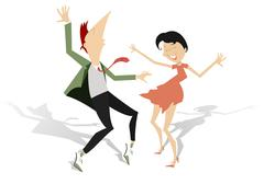 Dance Stock Illustration