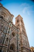 The Basilica di Santa Maria del Fiore, Florence, Italy Stock Photos