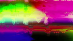 Color Saturated Grunge Movements Psy Transition Scratches Leader Background Stock Footage