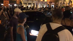 Black Lives Matter activists stop traffic in Washington, D.C. Stock Footage