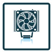 CPU Fan icon Stock Illustration