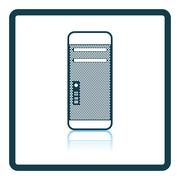 System unit icon Stock Illustration