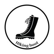 Hiking boot icon Piirros