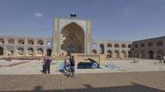 Jameh Mosque of Isfahan Stock Footage