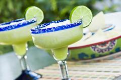 Frozen Margaritas - stock photo