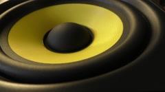 Vibrating Speaker - stock footage