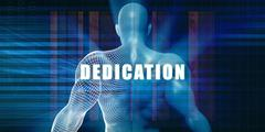 Dedication Stock Illustration
