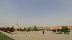Isfahan Imam Square Stock Footage
