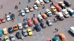 LEEUWARDEN, THE NETHERLANDS - MAY 28, 2016; Volkswagen Beetle Club gathering  Stock Photos