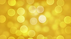 Yellow Circles Background. Stock Footage