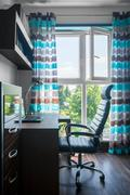 Beautiful home office design Stock Photos