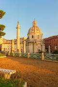 Forum - Roman ruins in Rome, Italy Stock Photos