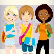 School Friends Piirros