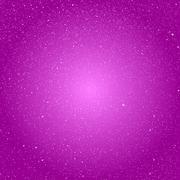 Vector background snowflakes. Pink ice storm. - stock illustration