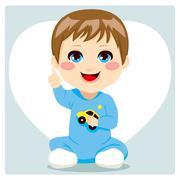 Smart Baby Boy Piirros