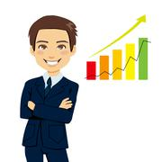 Successful Businessman Stock Illustration