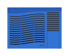 Air conditioning vector illustration Piirros
