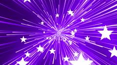 Stars And Lines Purple Background Loop 4K Stock Footage