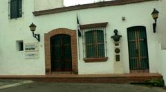 SANTO DOMINGO - Christopher Columbus house  Stock Footage