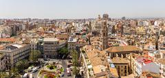 VALENCIA -JUNE 24: Santa Catalina tower on June 24 2016 in Valencia, Spain. S Stock Photos