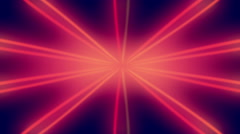 Red Star Shining Lines Loopable Background Stock Footage