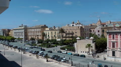 TRAPANI- City view, shot from cruise ship Stock Footage