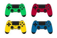 game joystick vector - stock illustration