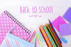 Back to School or Education Concept - stock photo