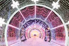 Decorations and architecture of Moscow Stock Photos
