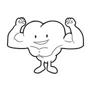 Weight lifting icon. Bodybuilding design. Vector graphic Stock Illustration