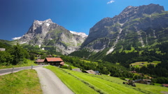 Grindelwald, Switzerland Stock Footage